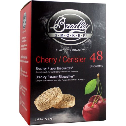 Bradley Smoker Cherry Bisquettes - 48 Pack
