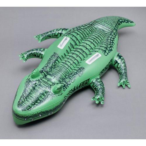 145cm Inflatable Crocodile - Fancy Dress Party Blow Up Australia Day Fancy -  inflatable crocodile fancy dress party blow up INFLATABLE CROCODILE