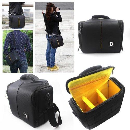 Outdoor Travel SLR Camera Storage Bag Shoulder Messenger Bag Crossbody Bag For Nikon D3200 D3100