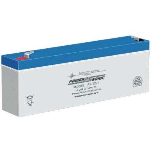 Power-Sonic PS1221VDS 12V 2.1Ah 5 YEARS DESIGN LIFE PS1221VDS