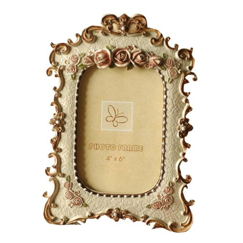 Country Side Resin Upright Desk Frame for Photo 6''