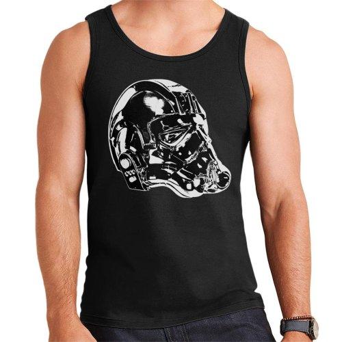 Original Stormtrooper Imperial TIE Pilot Helmet Side Shot Men's Vest