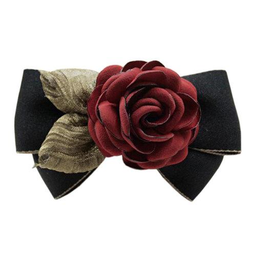 Fashionable Ladies Hair Decorations Elegant Hairpin Hair Clips Ribbons Hair Clasp L