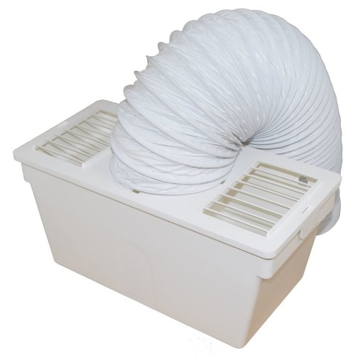 Crosslee Universal Tumble Dryer Condenser Vent Kit Box With Hose