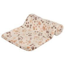 Trixie Lingo Blanket, 10 x 75 Cm, White/beige - Dog Cover Whitebeige Various -  trixie dog cover lingo whitebeige various sizes new soft cats dogs
