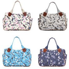 Buy 1 Get 1 at 20% Off Miss Lulu Women Handbag Bird Flower Shopper Bag Shoulder Tote