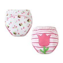 [Tulip] Baby Toilet Training Pants Nappy Underwear Cloth Diaper 15.4-26.4Lbs