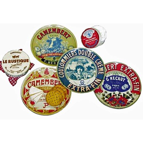 BIA Set of 4 Camembert Design Side Plates 20cm