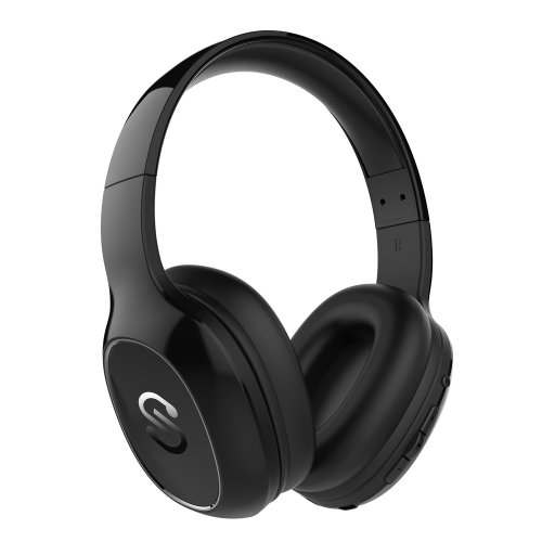 SoundPEATS Bluetooth Headphones DJ, Wireless Over Ear Earphones Hi-Fi Stereo Solid Bass Adjustable Headset with Mic and Dual 40 mm drivers,...