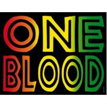Licenses Products Generic Reggae and Rasta One Blood Sticker