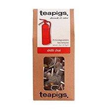 Teapigs Chilli Chai Tea 15 Temples - Biodegradable