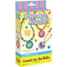 Creativity For Kids - Pop-Art Jewellery - Mini Kit