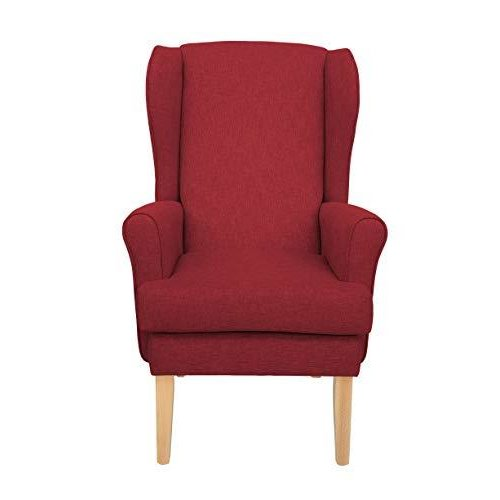 MAWCARE Highland Orthopaedic High Seat Chair - 21 x 21 Inches [Height x Width] in High Red (lc21-Highland_h)