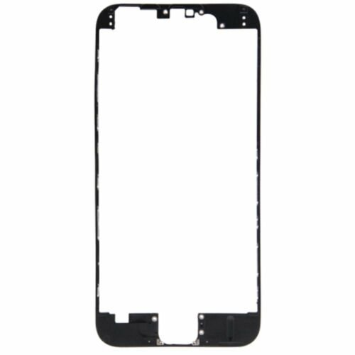 Black middle front bezel frame adhesive LCD screen iphone 6 4.7'' replacement